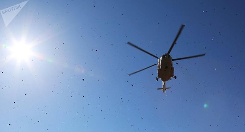 Rơi trực thăng Mi-8 ở Nga, có thể 18 người đã thiệt mạng - ảnh 1