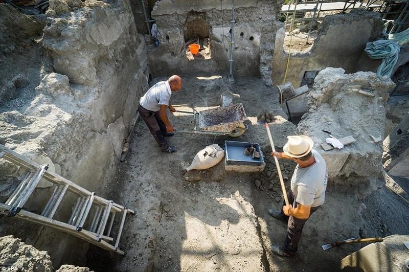 Khai quật được bích họa 2.000 năm tuổi - ảnh 2