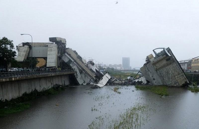 Thảm họa sập cầu cao tốc ở Ý khiến ít nhất 35 người thiệt mạng - ảnh 5
