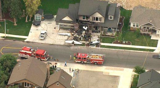 Sau cãi nhau với vợ, phi công lái máy bay đâm vào nhà tự sát - ảnh 2