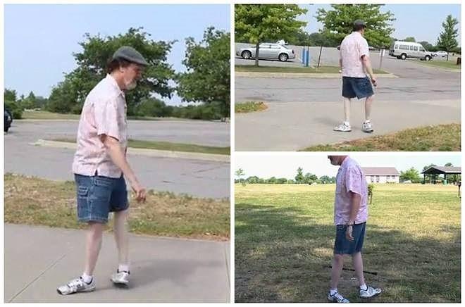 Dị nhân sở hữu đôi chân có thể quay 180 độ - ảnh 1