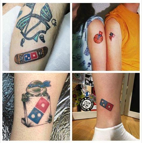 Đổ xô đi xăm hình logo công ty để ăn pizza miễn phí trọn đời - ảnh 2
