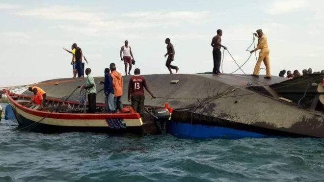 Hơn 200 người có thể đã chết trong thảm họa chìm phà Tanzania - ảnh 1