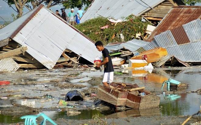 Indonesia tan hoang sau thảm họa động đất, sóng thần - ảnh 5