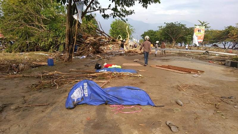 Indonesia tan hoang sau thảm họa động đất, sóng thần - ảnh 6