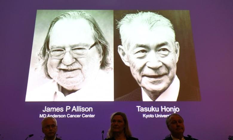 2 tác giả nghiên cứu điều trị ung thư nhận Nobel y học 2018 - ảnh 1