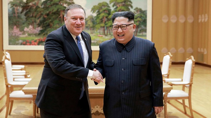 Ngoại trưởng Mỹ Mike Pompeo đến Triều Tiên gặp ông Kim Jong-un - ảnh 1