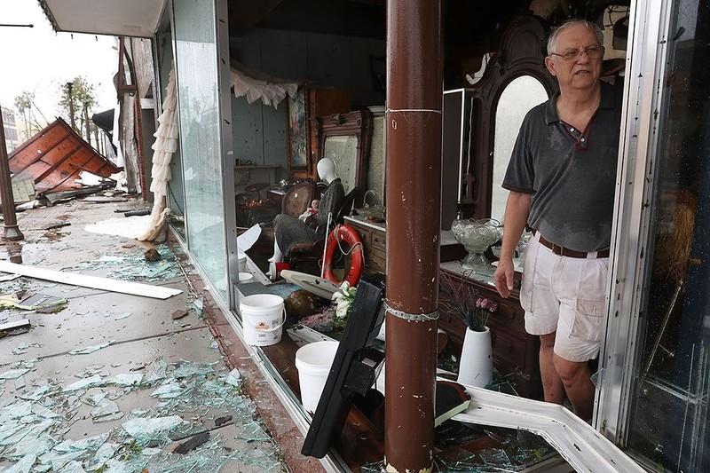 Mỹ: Bang Florida tan hoang sau siêu bão Michael lịch sử - ảnh 11
