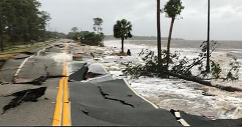 Mỹ: Bang Florida tan hoang sau siêu bão Michael lịch sử - ảnh 1