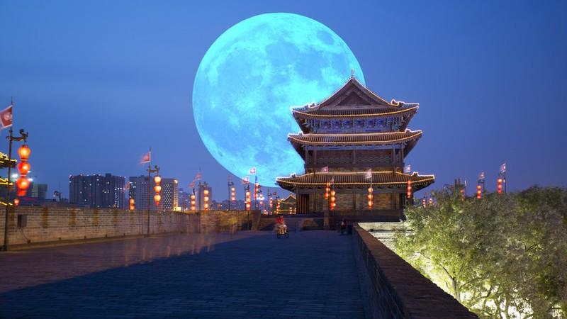 Trung Quốc sắp phóng 'Mặt trăng nhân tạo' thay thế đèn đường - ảnh 1