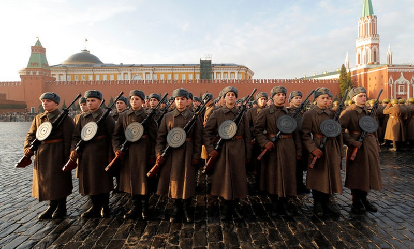 Nga tái hiện cuộc duyệt binh lịch sử năm 1941  - ảnh 8