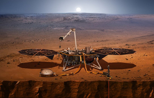 Tàu vũ trụ NASA hạ cánh thành công xuống sao Hỏa - ảnh 4