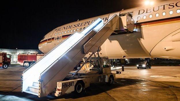Chuyên cơ chở thủ tướng Đức dự G20 hạ cánh khẩn vì sự cố - ảnh 2