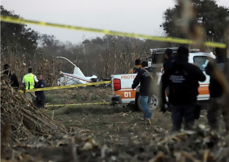 Mexico: Trực thăng rơi, vợ chồng thống đốc thiệt mạng  - ảnh 2