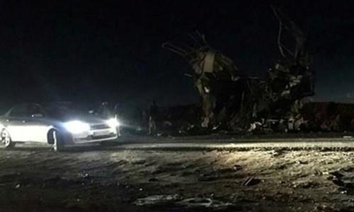 Đánh bom tự sát ở Iran, 40 vệ binh thương vong - ảnh 1