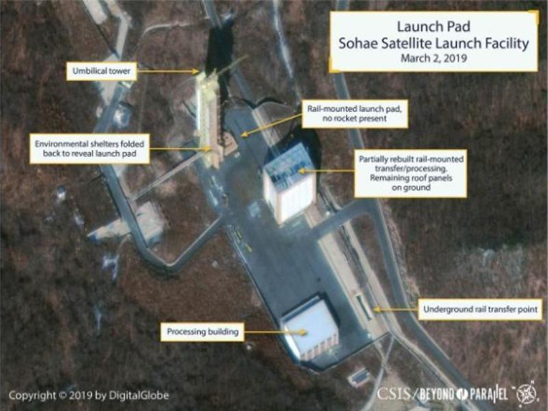 Lộ hình ảnh Triều Tiên có thể sắp phóng tên lửa - ảnh 1
