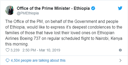 Không một ai trên chuyến bay Ethiopia sống sót - ảnh 3