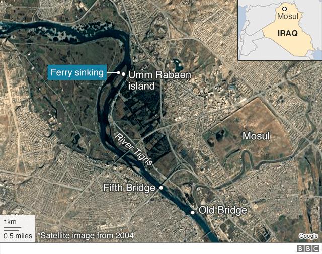 Thảm họa chìm phà ở Iraq, 100 người thiệt mạng - ảnh 3