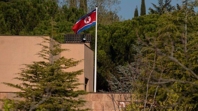 Mỹ bắt cựu quân nhân đột nhập Đại sứ quán Triều Tiên - ảnh 1