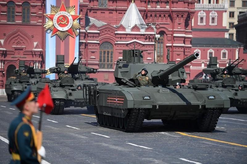 Nga phô diễn khí tài quân sự tại lễ duyệt binh ngày 9-5 - ảnh 9