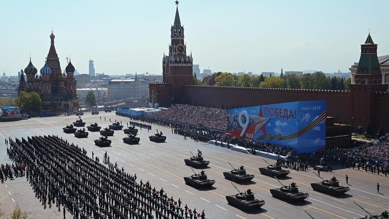 Nga phô diễn khí tài quân sự tại lễ duyệt binh ngày 9-5 - ảnh 1