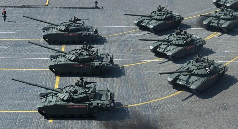 Nga phô diễn khí tài quân sự tại lễ duyệt binh ngày 9-5 - ảnh 10