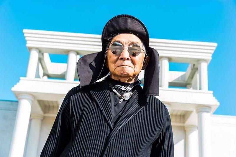 Choáng với độ 'ngầu' ông nội thời trang Nhật Bản - ảnh 6