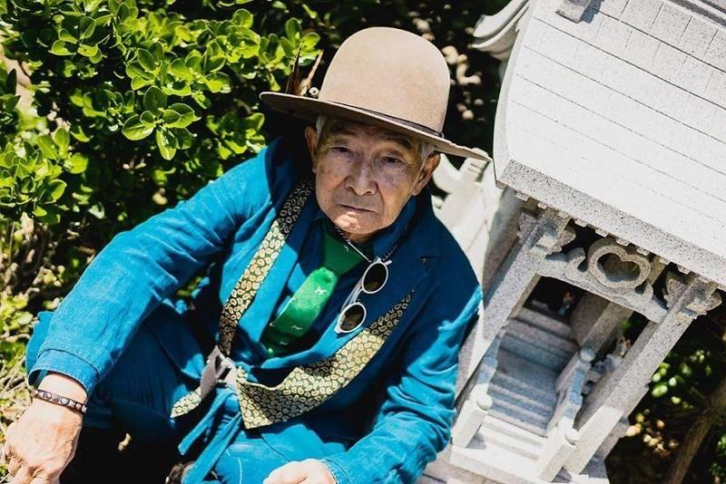 Choáng với độ 'ngầu' ông nội thời trang Nhật Bản - ảnh 4