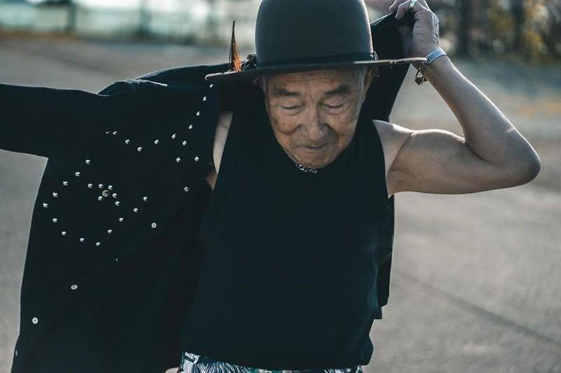 Choáng với độ 'ngầu' ông nội thời trang Nhật Bản - ảnh 9