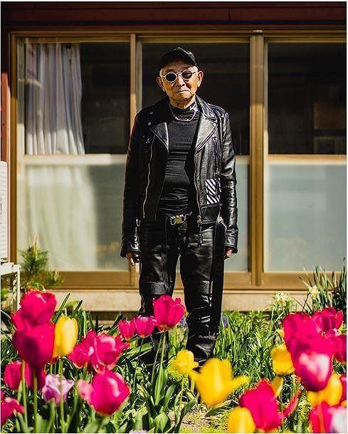 Choáng với độ 'ngầu' ông nội thời trang Nhật Bản - ảnh 2