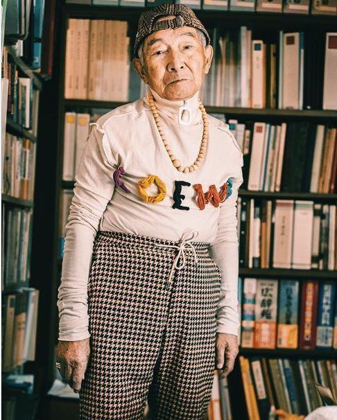 Choáng với độ 'ngầu' ông nội thời trang Nhật Bản - ảnh 11