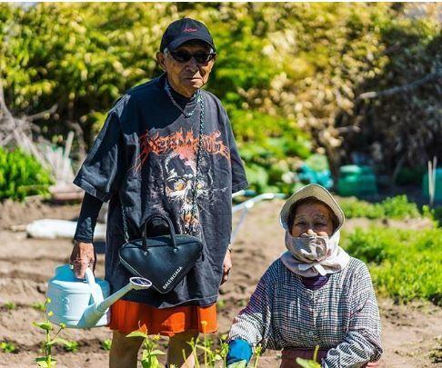 Choáng với độ 'ngầu' ông nội thời trang Nhật Bản - ảnh 12
