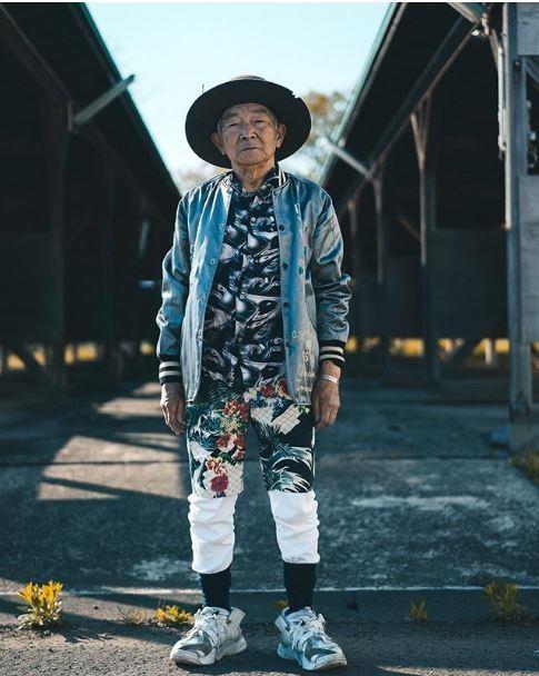 Choáng với độ 'ngầu' ông nội thời trang Nhật Bản - ảnh 13