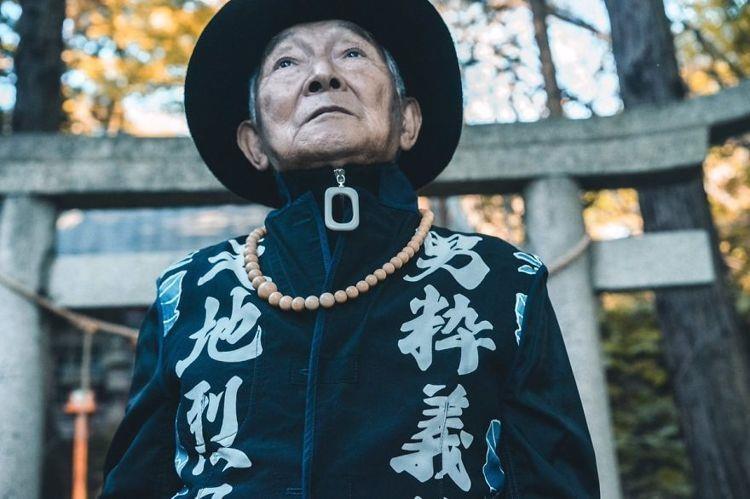 Choáng với độ 'ngầu' ông nội thời trang Nhật Bản - ảnh 14