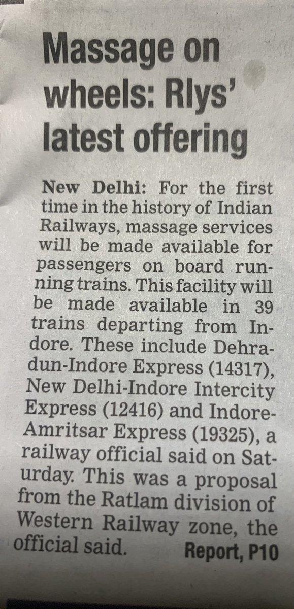Đến Ấn Độ đi tàu hỏa được massage - ảnh 2
