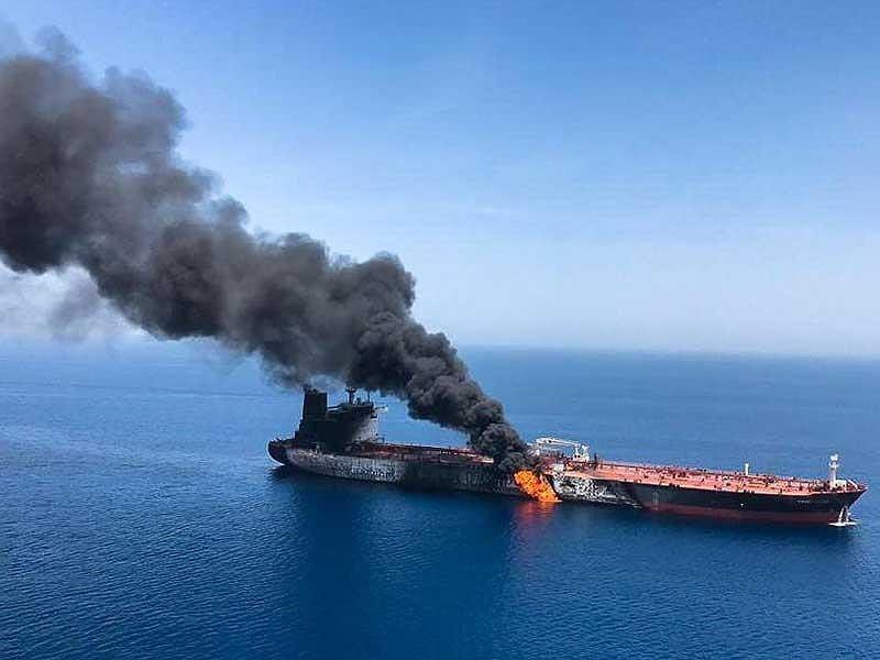Sau Mỹ, Anh cũng quy kết Iran đứng sau vụ cháy tàu vịnh Oman - ảnh 1