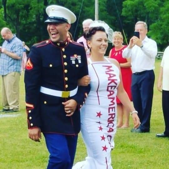 Đám cưới đặc biệt tổ chức theo phong cách Tổng thống Trump - ảnh 2