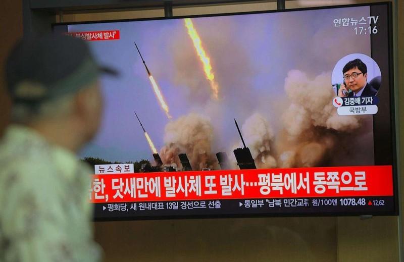 Mỹ: Triều Tiên tiếp tục thử tên lửa tầm ngắn - ảnh 2