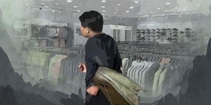 Một người Việt bị bắt ở Hàn Quốc vì trộm hơn 900 món quần áo - ảnh 1