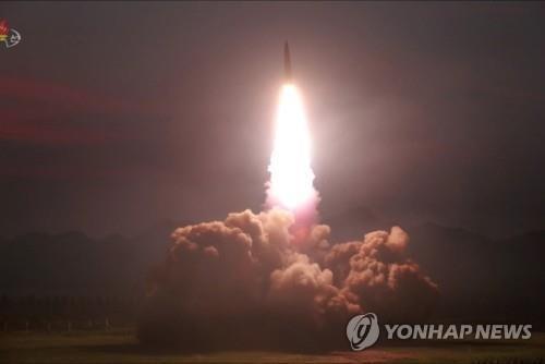 Tức tối Mỹ-Hàn tập trận, Triều Tiên tiếp tục bắn tên lửa - ảnh 1