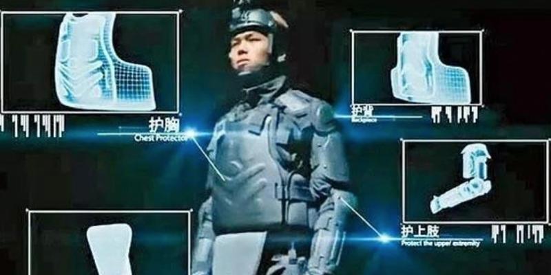 Cảnh sát Hong Kong nhập 500 bộ giáp khủng từ Trung Quốc  - ảnh 1