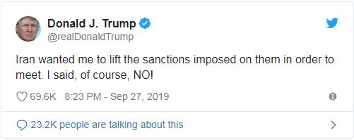 Iran: 'Mỹ đang muốn bỏ trừng phạt để đổi lấy đàm phán' - ảnh 2