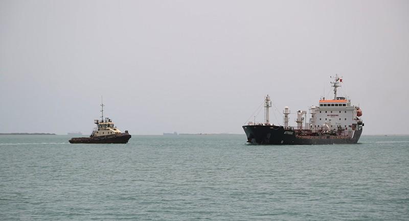 Tàu chở dầu Iran nổ gần khu vực cảng Saudi Arabia - ảnh 1