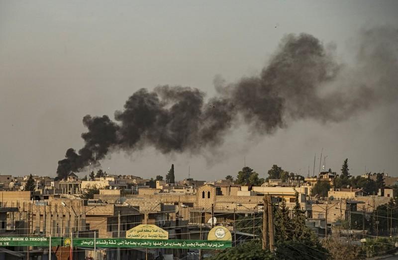 Quân Mỹ trúng pháo kích từ Thổ Nhĩ Kỳ - ảnh 1