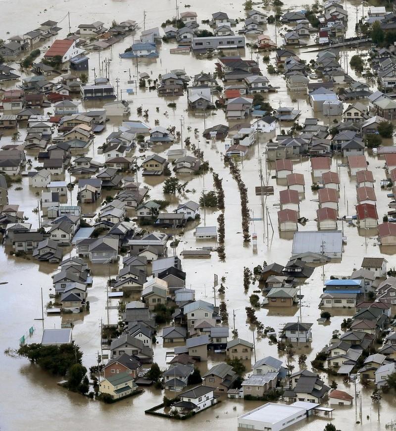Người Nhật kiên cường khắc phục thảm họa siêu bão Hagibis - ảnh 4