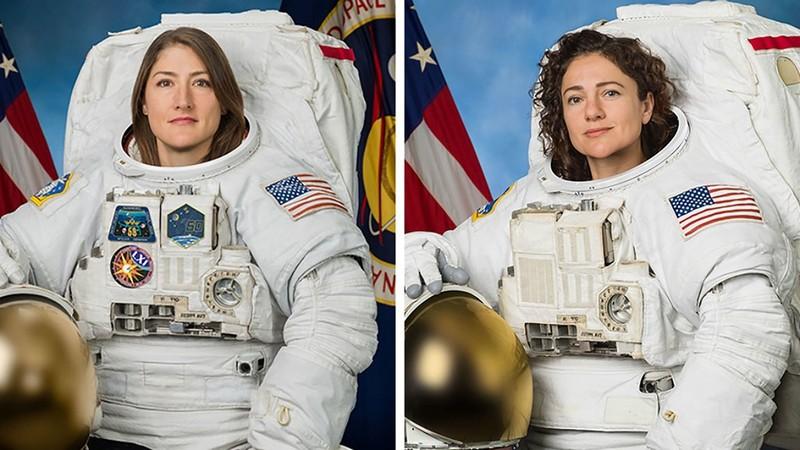 NASA phóng tàu vũ trụ toàn phụ nữ vào không gian - ảnh 1