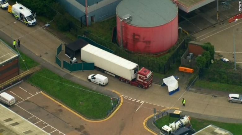 39 người chết trong container ở Anh là công dân Việt Nam - ảnh 1