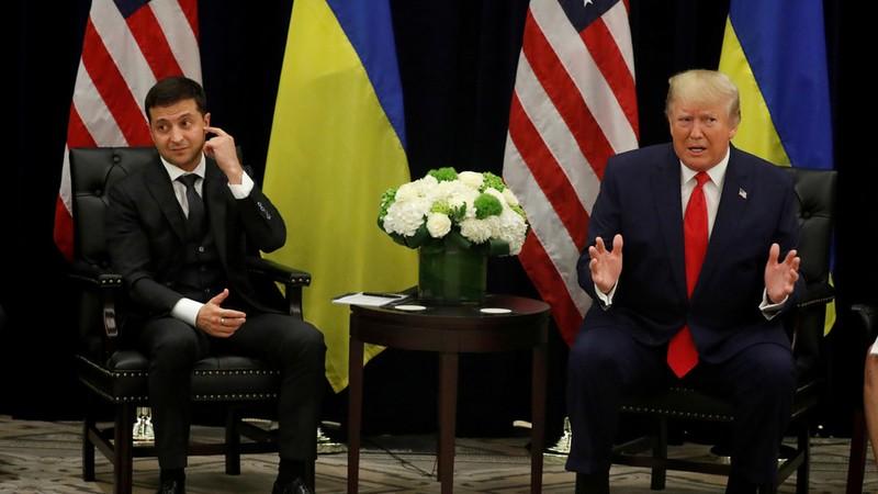 Nhà Trắng công bố cuộc gọi đầu tiên giữa Trump và Zelenskiy - ảnh 1