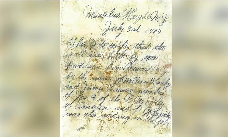 Bức thư trong chai bí ẩn 112 tuổi ở trường đại học - ảnh 2