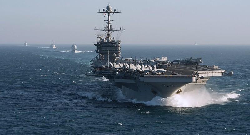 Mỹ triển khai 14.000 quân, nhiều tàu chiến đến Trung Đông - ảnh 1